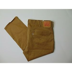 Levi's 541 46 X 29 Athletic Taper Fit Khakis Brown